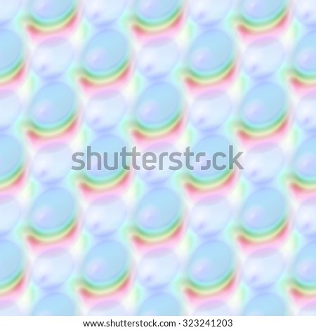 Abstract colorful bubble pattern. Texture background.  Seamless illustration. - stock photo