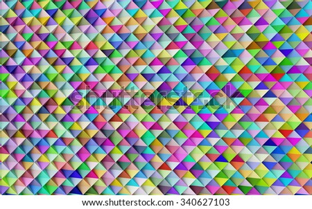 abstract colorful geometric background, abstract background - stock photo