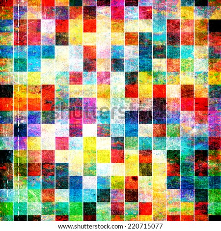Abstract colorful grunge style background, vintage concept desktop wallpaper design - stock photo