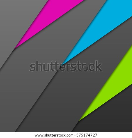 Abstract colorful samples - stock photo