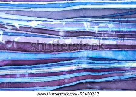 abstract colorful texture batik - stock photo