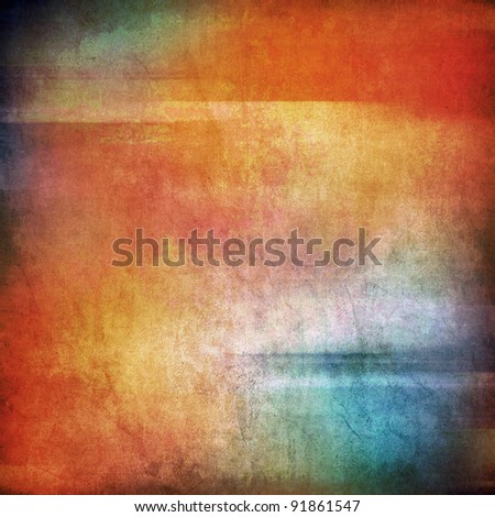 Abstract colorful texture, blue, red, yellow color - stock photo