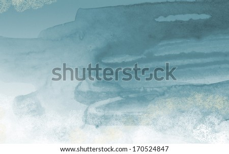 Abstract colorful water color art background  - stock photo