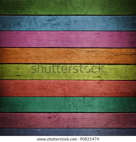abstract colorful wood background. - stock photo