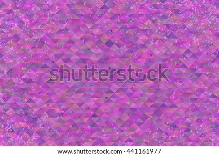 Abstract colourful watercolour background in shades of purple - stock photo