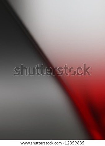 Abstract composition from gray and red color - stock photo