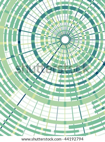 Abstract concentric circle background. Vector version also available. - stock photo