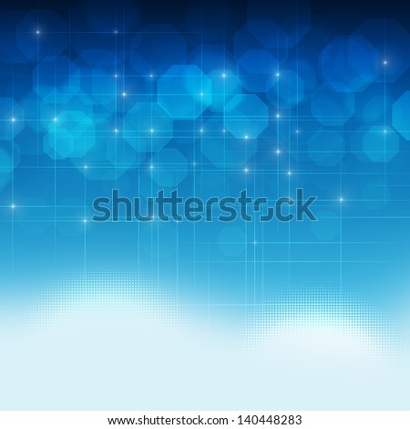 abstract contemporary business concept technology background - stock photo
