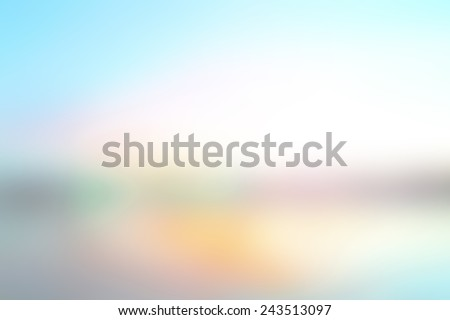 Abstract contemporary texture background - trendy health business website template with copy space. Blurred sunrise beach background. Summer holiday concept. - stock photo