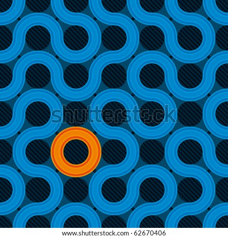 abstract cover design (seamless pattern) - stock photo