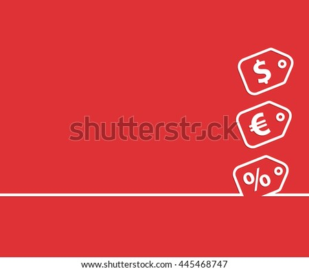Abstract creative concept background. For web and mobile applications, illustration template design, business infographic, brochure, banner, presentation, document. - stock photo