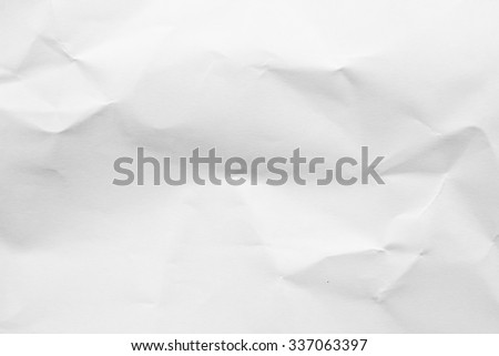 abstract crumpled white watercolor paper background texture:detail of wrinkle watercolour texture pattern concept:creased white paper backdrop concept. - stock photo