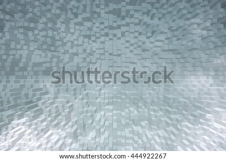 abstract 3D cubes background  - stock photo