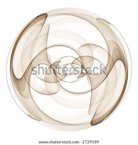 Abstract 3D design background - stock photo