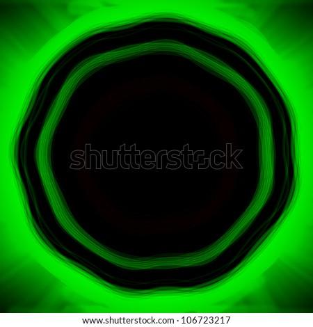 abstract dark circle background - stock photo