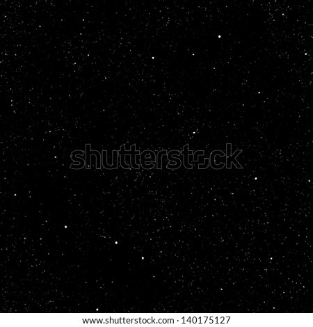 Abstract dark deep space background with stars. - stock photo