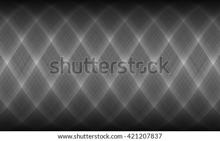 Abstract dark gray background, neutral backdrop, design element - stock photo