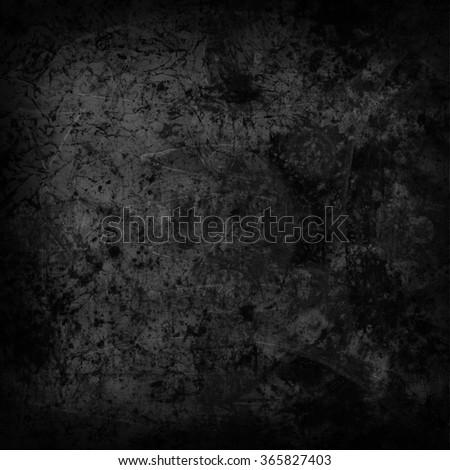Abstract dark vintage background - stock photo