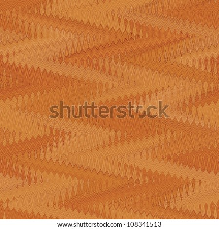 Abstract decorative zig zag textured background. Seamless tiling. Illustration. - stock photo