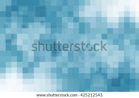 abstract design on blue background - stock photo