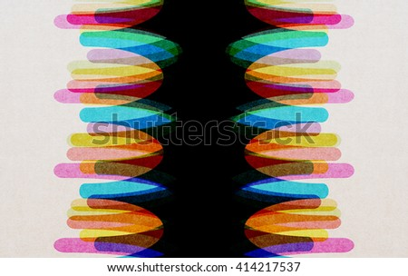 Abstract design Wave, Colorful wave - stock photo