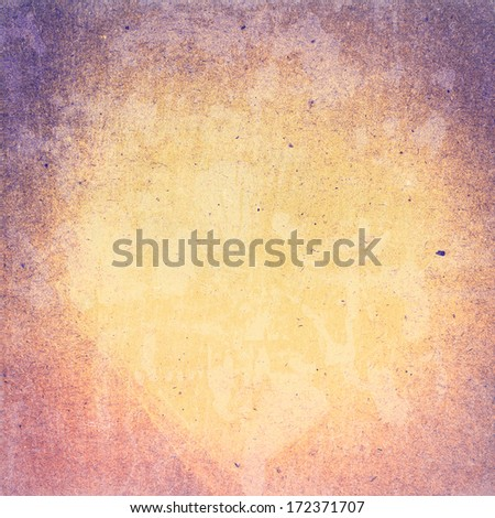 Abstract Designed  detailed grunge paper textured background. High resolution recycled colorful yellow and red cardstock. Paper vintage  background - stock photo