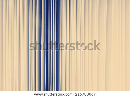 Abstract detail of thick paper pages in book with Instagram style filter - stock photo