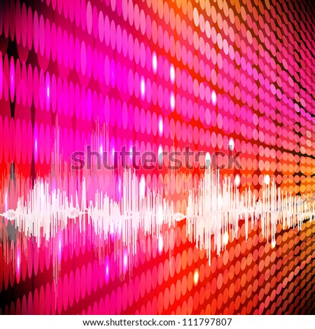 Abstract digital background. - stock photo