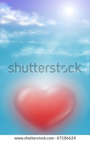 Abstract digital illustration - stock photo