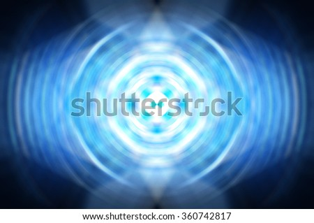 Abstract dynamic blue  background - stock photo