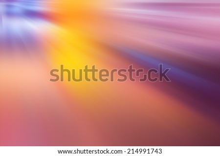 abstract dynamic composition, light beams and effects - stock photo