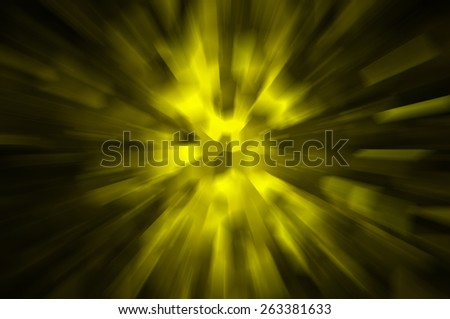 Abstract dynamic gold background  - stock photo
