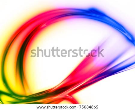 abstract elegant energy futuristic background - stock photo
