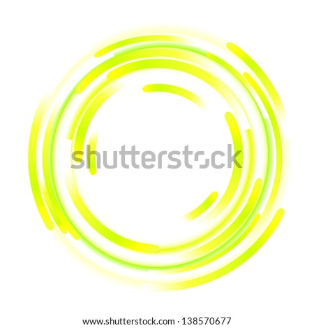 abstract elements of rotation - stock photo