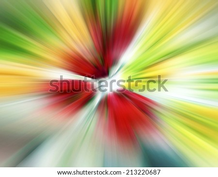 Abstract - Explosion of colors - stock photo