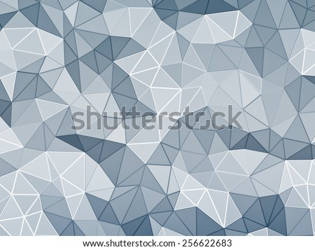 Abstract faceted background - stock photo