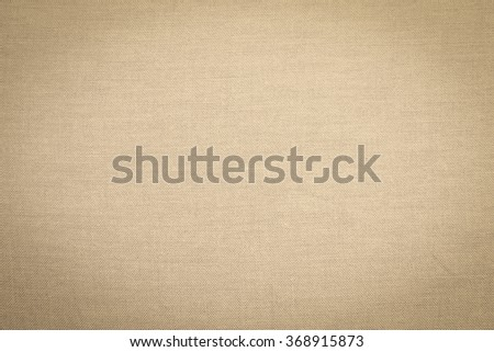 Abstract flat bright cream tan color fabric textile texture background:detail of plain burlap backdrop:rustic seamless pattern canvas structure clothing concept:brown color of linen wallpaper picture - stock photo