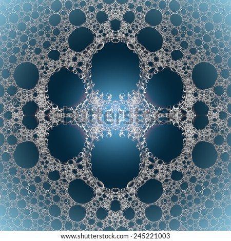 abstract Foamy bubbly water texture background - stock photo