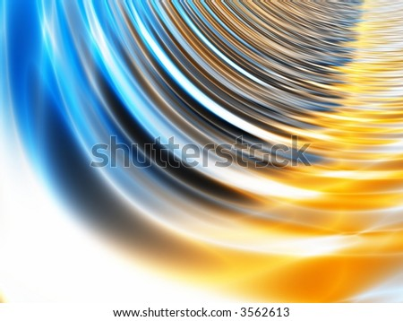 Abstract Fractal - stock photo