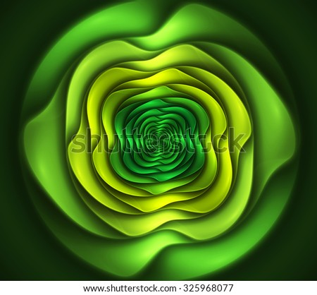 abstract fractal background for creative design - stock photo