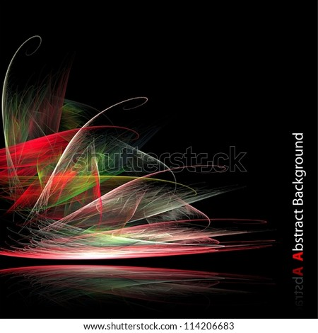 Abstract futuristic background. - stock photo