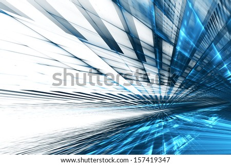 Abstract futuristic background - stock photo