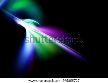 abstract futuristic energy speed background - stock photo