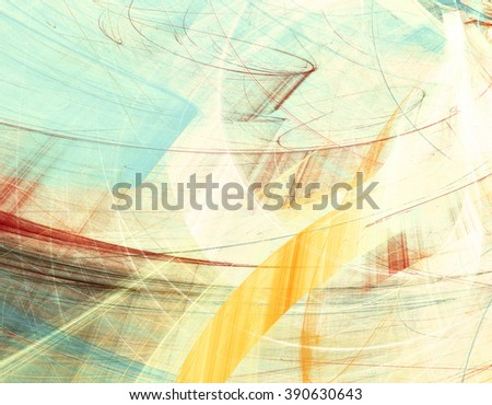 Abstract futuristic painting color texture. Bright artistic background with lighting effect. Modern multicolor dynamic shiny pattern. Fractal artwork for creative graphic design - stock photo