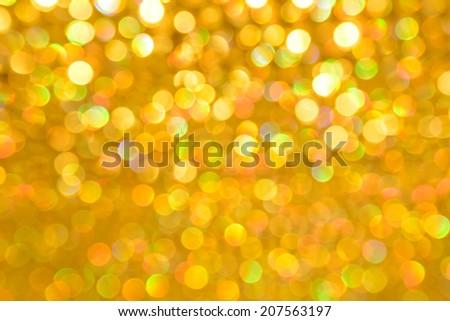 Abstract fuzzy facula - stock photo