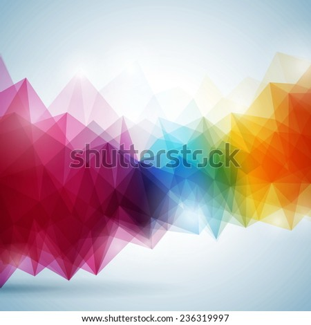 Abstract geometric background design. JPG version. - stock photo