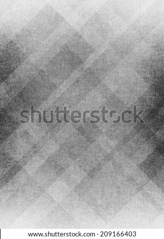 abstract geometric black and white background design pattern with faded texture and diagonal lines  - stock photo