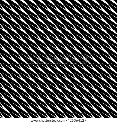 Abstract geometric monochrome, minimal artistic pattern. Seamlessly repeatable. - stock photo