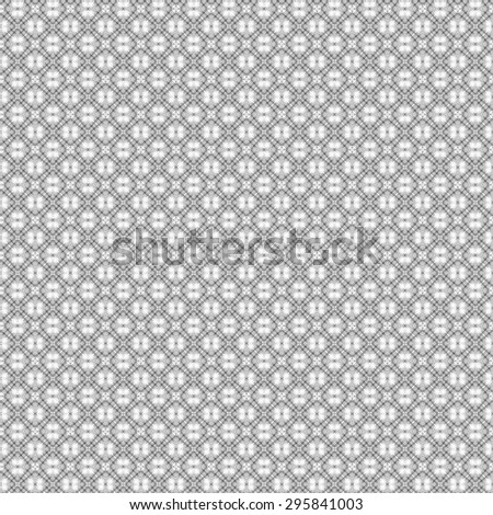 abstract geometric monochrome seamless pattern, Gray and white texture. - stock photo