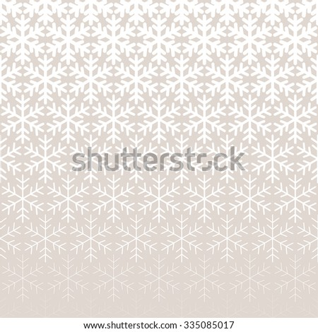 Abstract geometric pattern with snowflakes Repeating seamless background - stock photo